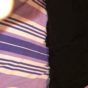 SHEIN Skirts - Black jean skirt
